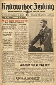 Kattowitzer Zeitung, 1940, Jg. 72, Nr. 108