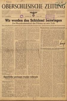 Oberschlesische Zeitung, 1944, Jg. 76, Nr. 1