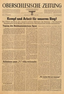Oberschlesische Zeitung, 1944, Jg. 76, Nr. 184
