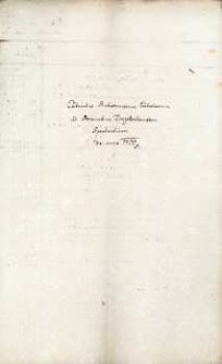 Rachunki kościoła w Opawicy z 1760 r.