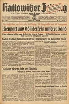 Kattowitzer Zeitung, 1940, Jg. 72, Nr. 151