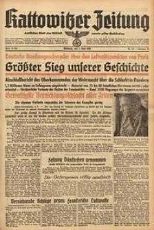 Kattowitzer Zeitung, 1940, Jg. 72, Nr. 153