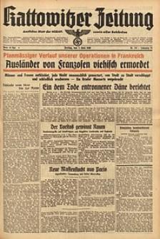 Kattowitzer Zeitung, 1940, Jg. 72, Nr. 155