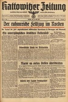 Kattowitzer Zeitung, 1940, Jg. 72, Nr. 162