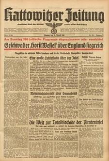 Kattowitzer Zeitung, 1940, Jg. 72, Nr. 228