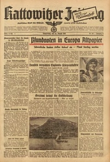 Kattowitzer Zeitung, 1940, Jg. 72, Nr. 231