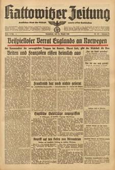 Kattowitzer Zeitung, 1940, Jg. 72, Nr. 233