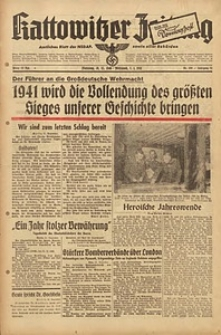 Kattowitzer Zeitung, 1940, Jg. 72, Nr. 360