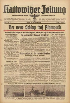 Kattowitzer Zeitung, 1940, Jg. 72, Nr. 330