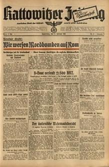 Kattowitzer Zeitung, 1941, Jg. 73, Nr. 43