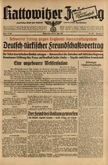 Kattowitzer Zeitung, 1941, Jg. 73, Nr. 166
