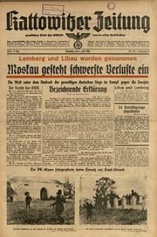 Kattowitzer Zeitung, 1941, Jg. 73, Nr. 178