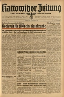 Kattowitzer Zeitung, 1941, Jg. 73, Nr. 249