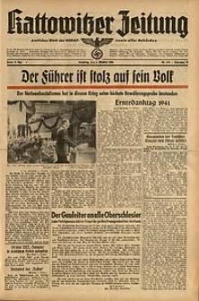 Kattowitzer Zeitung, 1941, Jg. 73, Nr. 274