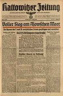Kattowitzer Zeitung, 1941, Jg. 73, Nr. 281