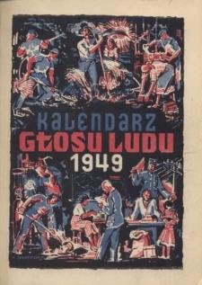 Kalendarz Głosu Ludu na Rok 1949