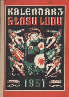 Kalendarz Głosu Ludu na Rok 1951