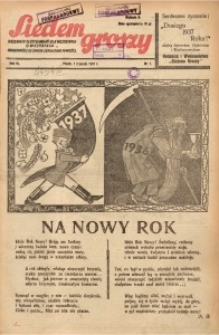 Siedem Groszy, 1937, R. 6, nr 1