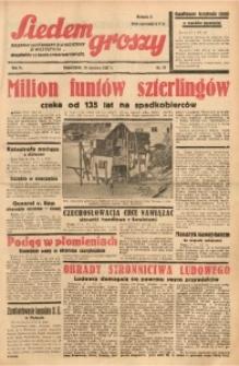 Siedem Groszy, 1937, R. 6, nr 18