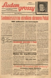 Siedem Groszy, 1937, R. 6, nr 37