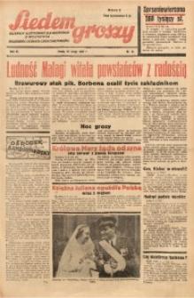 Siedem Groszy, 1937, R. 6, nr 41