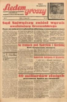 Siedem Groszy, 1937, R. 6, nr 44