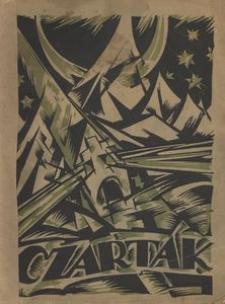 Czartak : miesięcznik literacko-artystyczny, 1922, Z.1