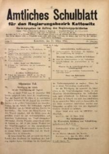 Amtliches Schulblatt für den Regierungsbezirk Kattowitz, 1943, Jg. 4, Folge 9