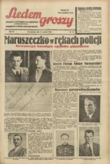 Siedem Groszy, 1938, R. 7, nr 16