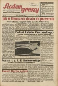 Siedem Groszy, 1938, R. 7, nr 38