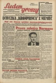 Siedem Groszy, 1938, R. 7, nr 41