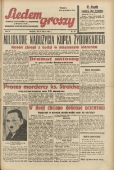 Siedem Groszy, 1938, R. 7, nr 65