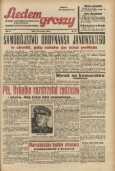 Siedem Groszy, 1938, R. 7, nr 68