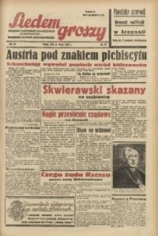 Siedem Groszy, 1938, R. 7, nr 70