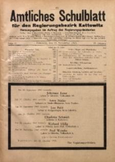 Amtliches Schulblatt für den Regierungsbezirk Kattowitz, 1943, Jg. 4, Folge 32