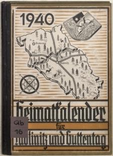 Heimatkalender für Lublinitz und Guttentag, 1940, 4. Jahrgang