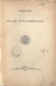 Polski Anti-Lukrecyusz