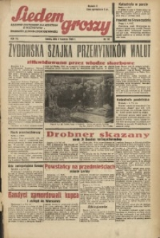 Siedem Groszy, 1938, R. 7, nr 92