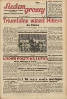 Siedem Groszy, 1938, R. 7, nr 122