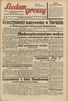 Siedem Groszy, 1938, R. 7, nr 141
