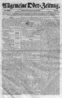 Allgemeine Oder-Zeitung, 1848, No 237