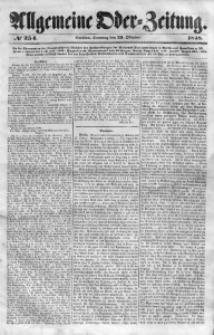 Allgemeine Oder-Zeitung, 1848, No 254