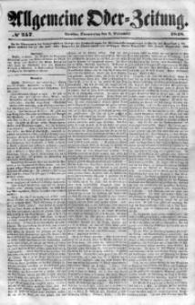 Allgemeine Oder-Zeitung, 1848, No 257