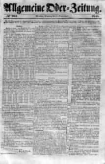 Allgemeine Oder-Zeitung, 1848, No 261