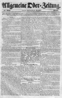 Allgemeine Oder-Zeitung, 1848, No 284