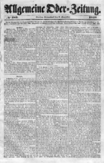 Allgemeine Oder-Zeitung, 1848, No 289