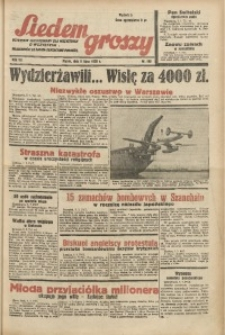 Siedem Groszy, 1938, R. 7, nr 186