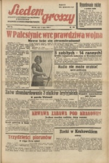 Siedem Groszy, 1938, R. 7, nr 190