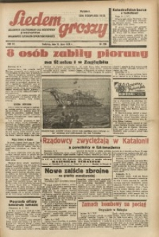 Siedem Groszy, 1938, R. 7, nr 209