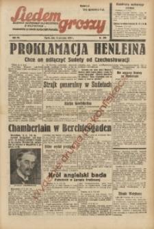 Siedem Groszy, 1938, R. 7, nr 255